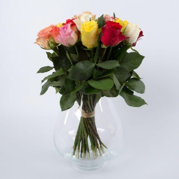 Kulørte Roser, forfra 1