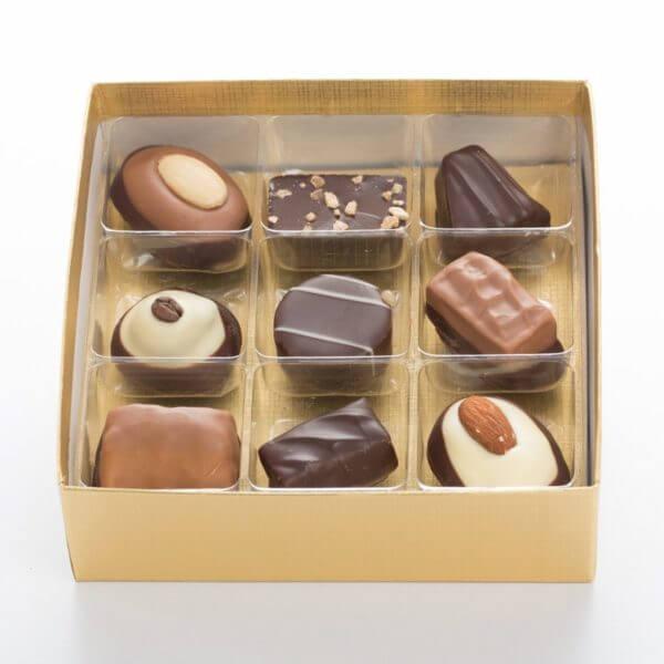 Chokolade 100 gram i æske