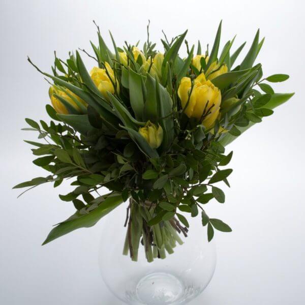 Gule Tulipaner, fra siden