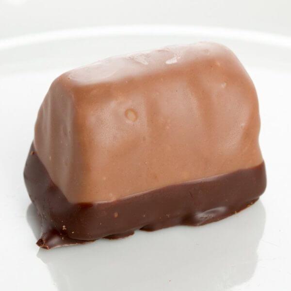 """Billede af et stykke chokolade """"Nougat-Krokant"""""""