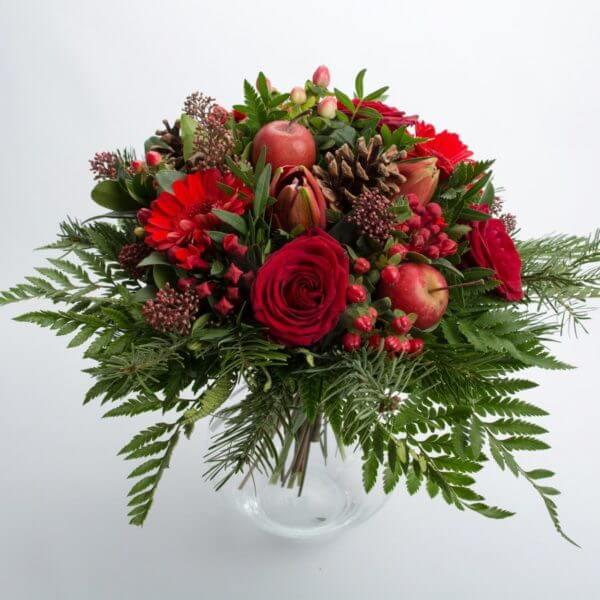 Rød Julebuket