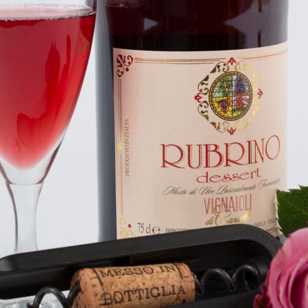 Rubrino, Rød Moscato, detalje