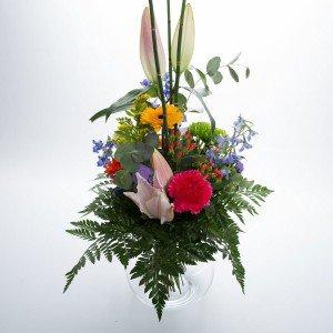 Variationsbuket med Liljer