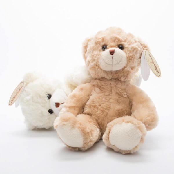 De to bamser der hedder Samuel, både den hvide og den brune
