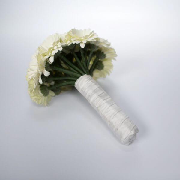 Gro sort hvid brudebuket
