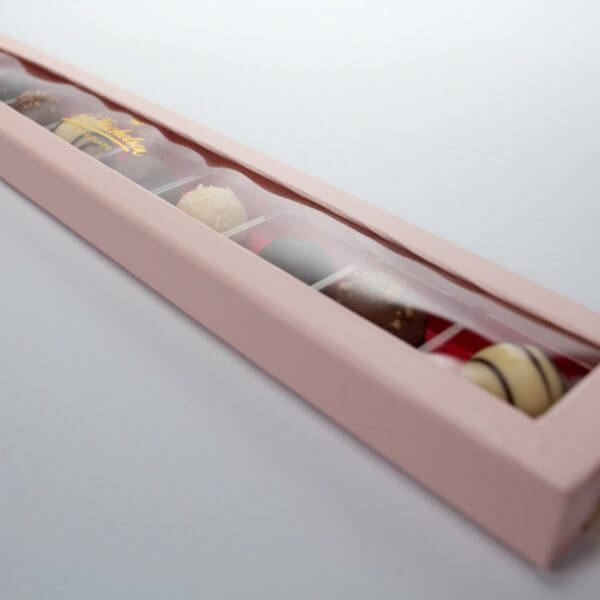 10 Trøffelkugler af chokolade