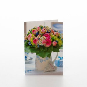 Blomster kande