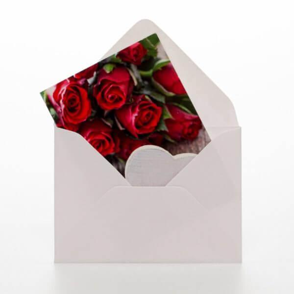 Roser hjerte