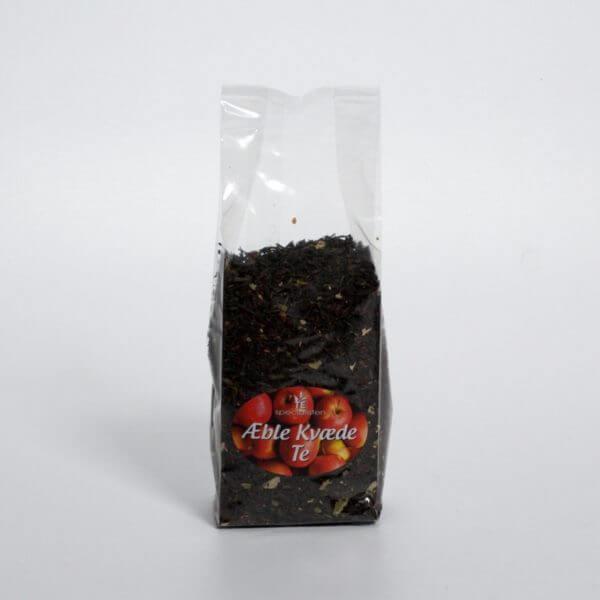 Æble kvæde te - Forside af posen