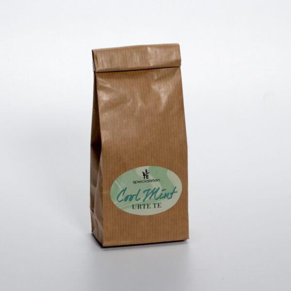 Cool Mint te - Forsiden af posen