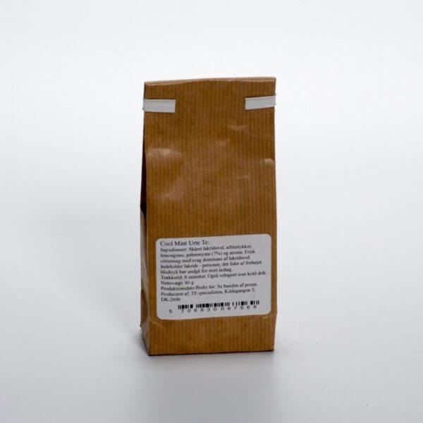 Cool Mint te - bagside af posen