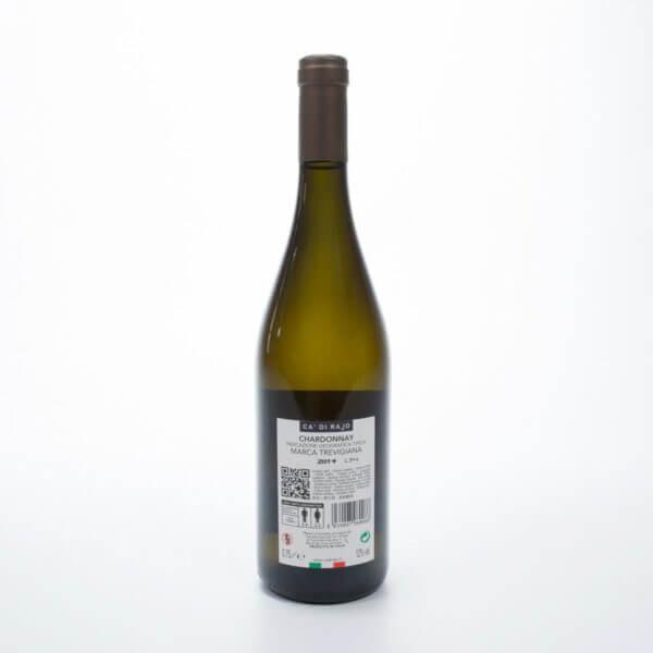 Chardonnay fra Ca Di Rajo i området nord for Venedig i Italien