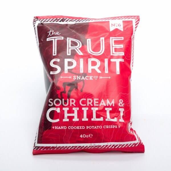 Sour Cream & Chilli Chips