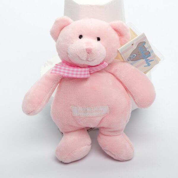 Teddy Baby lyserød