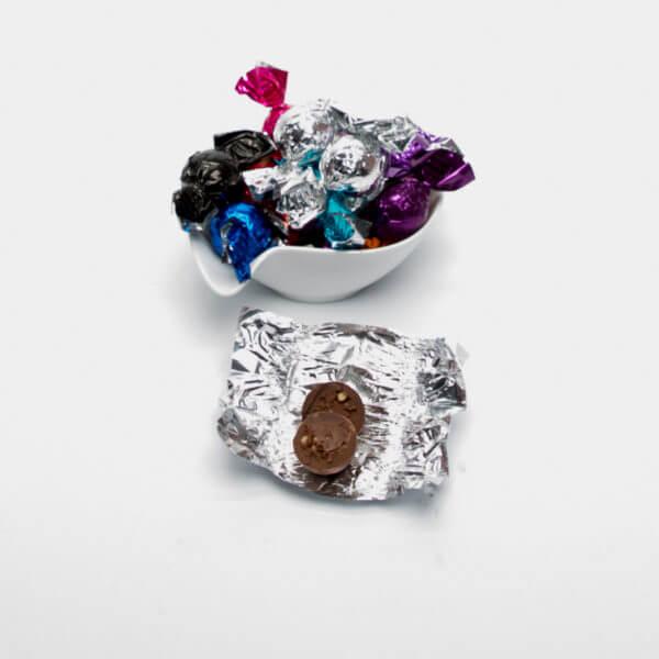 Mørk chokolade med crisp kerne