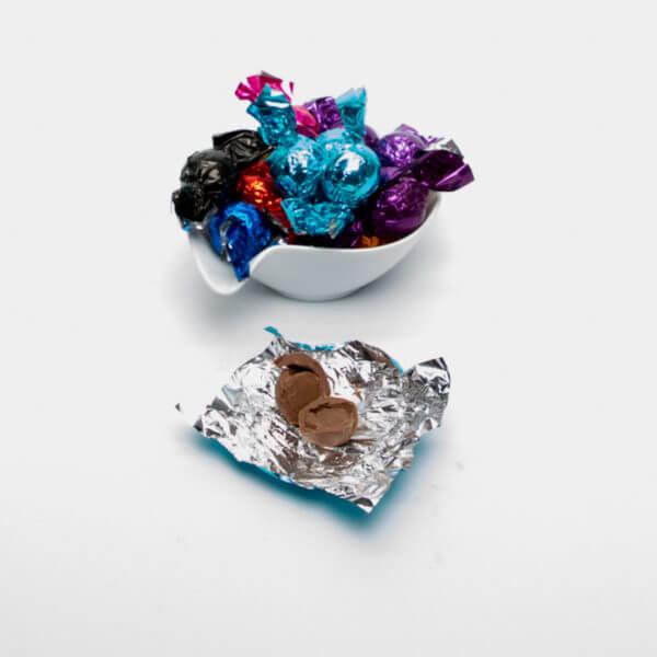 Flødechokolade med amaretto mandel