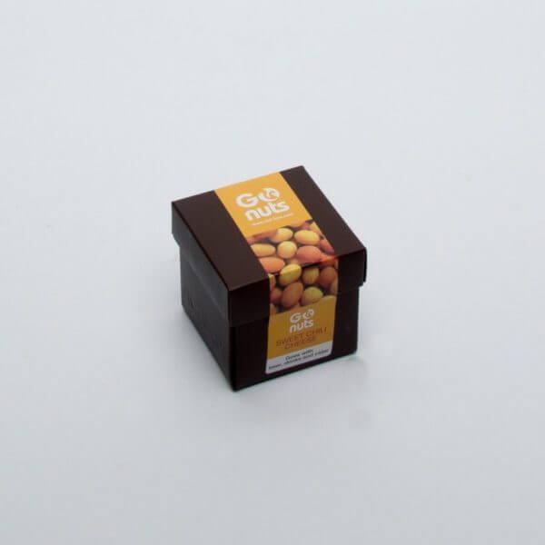 GoNuts i en lille lækker og kvadratisk æske