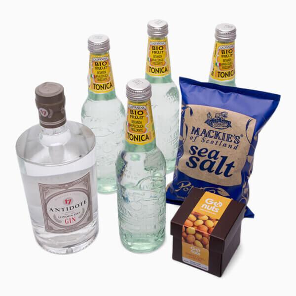 Billede af Gin og Tonic Kit XL der får dig i gang med en rigtig god Gin og Tonic aften